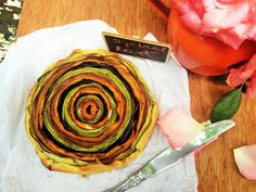 MARINA MOTT: Torta Espiral de Legumes (Spiral Tart)! Um deleite para os olhos e para a boca! mesmo!!