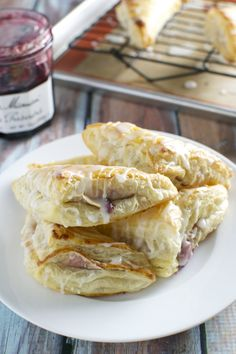 Cherry Cream Cheese Turnovers have limited ingredients and are simple to make. These bakery style breakfast treats can be made at home!
