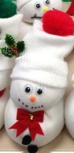 Holiday craft- sock snowman- Teaching Madness
