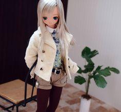 Winter casual. #azonejp #azonedoll #excute #えっくすきゅーと #pureneemo #dollfashion #o44_lien_6th