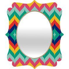 Espelho de bela Moldura