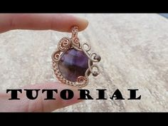 Tutorial/Demo: Wire Wrapped Gemstone Pendant - YouTube