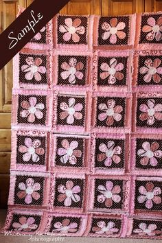 Custom Twin Size Flannel Rag Quilt by BobbiMacDesigns on Etsy, $500.00