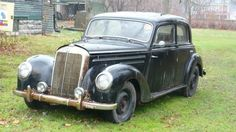His Father's Car: 1952 Mercedes-Benz 220 - http://barnfinds.com/his-fathers-car-1952-mercedes-benz-220/