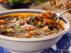 Hodge Podge Chowder - Use up those spare veggies in the freezer with a delicious chowder!
