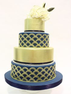 beautiful (wedding) cake, perfect for the summer.