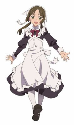 Shuumatsu no Izetta - Lotte: Nao Tōyama Manga Girl, Manga Anime, Character Creation, Character Design, Shuumatsu No Izetta, The Last Witch, Pokemon, Anime Maid, Maid Outfit