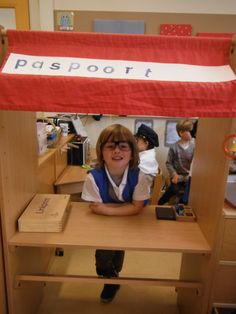 Have them sign in to their classroom Kindergarten Inquiry, Kindergarten Themes, Dramatic Play Area, Dramatic Play Centers, School Age Activities, School Themes, Airport Theme, Summer Courses, Transportation Theme