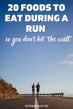 """Use these 20 foods to fuel your long run and never """"hit the wall"""" again. Perfect for marathon and half marathon training. #halfmarathon #runnerfood #fuel Nutrition For Runners, Nutrition Plans, Nutrition Tips, Runners Food, Crunchy Chickpeas, Endurance Workout, Sports Drink, Fiber Foods, Mashed Sweet Potatoes"""