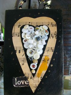 Love by JuJuQueen on Etsy, $25.00