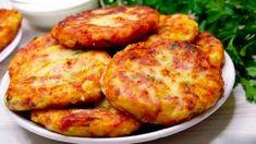 raborak Slovak Recipes, Vegan Recipes, Cooking Recipes, Cordon Bleu, Tandoori Chicken, Baked Potato, Mashed Potatoes, Dessert Recipes, Food And Drink