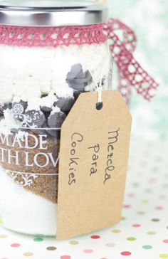 Objetivo: Cupcake Perfecto.: Amor en bote (o cómo hacer regalos de Navidad caseros... ¡¡con sorteo incluido!!)