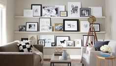 A must have for future home. Love the mix of photos and art, even easy to pull in child's art
