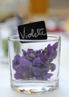 Fleurs comestibles - les #Violettes