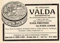 """A propaganda abaixo foi veiculada na revista A Cigarra em 1919, notem a frase que dava poderes medicinais ao produto: """"…são extraordinariamente superiores a tudo o que tem sido descoberto até hoje…"""""""