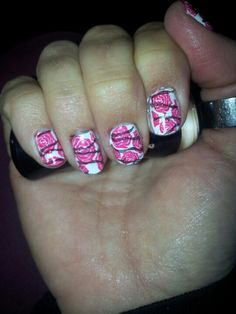 Roses and barbwire Nails