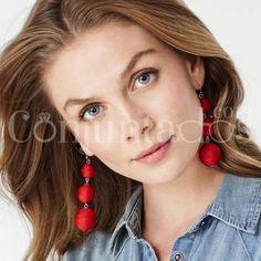 Pendientes Constance con bolas rojas ★ 13'95 € en https://www.conjuntados.com/es/pendientes-constance-con-bolas-rojas.html ★ #pendientes #earrings #conjuntados #conjuntada #joyitas #lowcost #jewelry #bisutería #bijoux #accesorios #complementos #moda #eventos #fashion #outfit #estilo #style #streetstyle #spain #GustosParaTodas #ParaTodosLosGustos