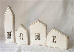 HOME Häuser aus Holz im shabby Chic!