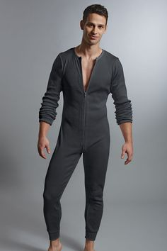 Contour® Prive Union Suit Onesie for Men | UnderGear