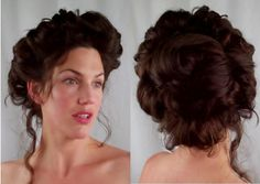 edwardian hair | Victorian & Edwardian Hairstyle Video Tutorials