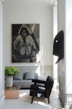 A Private Apartment by Joseph Dirand In Saint-Germain-des-Prés, Paris, France