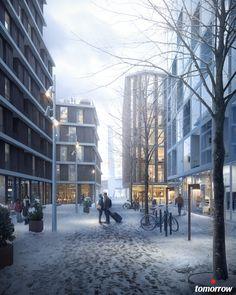 TMRW.se - Gothenburg 2021 by Tomorrow | Architecture | 3D | CGSociety