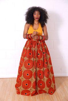 Fuma Skirt ~African fashion, Ankara, kitenge, African women dresses, African prints, African men's fashion, Nigerian style, Ghanaian fashion ~DKK