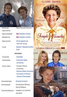 Temple Grandin Filme, livro, biografia, autismo, veterinária, fazenda, máquina do abraço, exemplo, empreendedorismo, inovação, ...