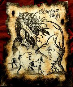 In the Grove of Jhebbal Sag by MrZarono.deviantart.com on @DeviantArt