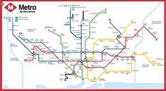 Linie metra w Barcelonie