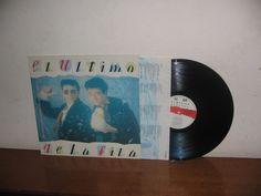 El Último de la Fila      Lp Mega Rare Vintage Spain 1990