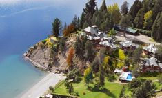Charming Luxury Lodge & Private Spa in San Carlos de Bariloche, Argentina Lake Hotel, Hotel Spa, Scottish Shower, Choice Hotels, Alpine Style, Spa Offers, Lake View, Outdoor Pool, Marrakech