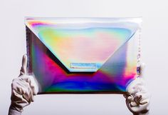 Items similar to silver holographic laptop case for Apple Macbook on Etsy Macbook Pro Laptop Case, Macbook Air 11, Handbag Accessories, Tech Accessories, Notebook Case, Handmade Notebook, Handmade Handbags, Laptop Tote, Taschen