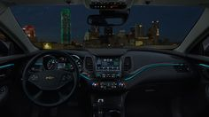 2015 Chevrolet Impala Interior | Nothing better than stars lighting up the night sky | Illuminated interior makes it easy for drivers in the 2015 Impala | Read the full review
