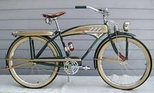 Spent a lot of Our Youth riding Bikes..Tho Mine was a Girl's Schwinn handed down from my Sister..Didn't like my first Bike..thought it was too Funky.