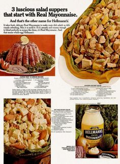 Hellmans Salad Suppers