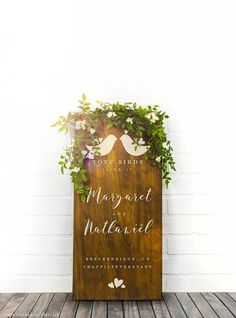 Custom Wood Wedding Drink Sign Rustic Wedding Menu Board Wood Menu Sign Drink Sign Bar Menu Wedding Decor Buffet Signs by ChicagoFactoryGifts Menu Wedding, Wedding Date Sign, Rustic Wedding Signs, Wedding Signage, Our Wedding, Gift Wedding, Wedding Ideas, Wedding Reception, Wedding Dinner