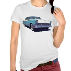 1956 Ford Fairlane Victoria Women's T-Shirt