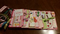 Scrapbook made for Baby Payton