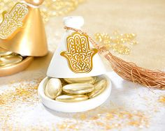 Mini Tagine - use as jewelry holder for Moroccan inspired bedroom Sweet Table Wedding, Wedding Gifts For Guests, Wedding Favours, Moroccan Party, Moroccan Wedding, Modern Moroccan, Christmas Dinner 2017, Oriental Wedding, Ramadan Gifts