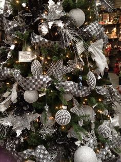 silver christmas decorations | Classy Christmas Tree Ideas Silver On Decor With Share Pictures