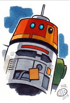 Chopper by on DeviantArt Star Wars Droids, Star Wars Rebels, Nave Star Wars, Animation Programs, Tribal Warrior, Star Wars Pictures, Star Wars Collection, Clone Wars, For Stars