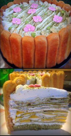 How to make green tea cake video