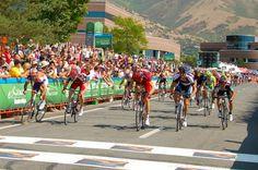 Tour of Utah 2012 Stage 3: Finish line  ©2012 Middle Aged Ski Bum