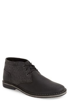Steve Madden 'Harken' Leather Chukka Boot (Men) available at #Nordstrom