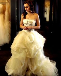 Blair Waldorf has actually owned quite a lot of wedding dresses now that I think about it.