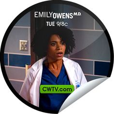 Emily Owens, M.D.: Emily and... The Outbreak Social Tv, The Cw, Stickers, The Originals, Decals