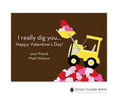 Loads of Love Valentine Flat Card | Invitations by Design