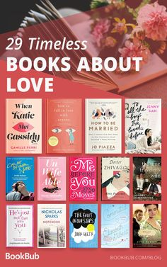 29 Life-Changing Books About Love Worth Reading From beloved classics to modern bestsellers to witty nonfiction, these books about love are timeless and heartwarming. Book Club Books, Book Lists, My Books, Reading Books, Book Art, Great Books, Book Series, Books Everyone Should Read, Best Books To Read