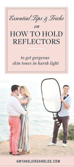 How to Use a Reflector to Get Gorgeous Skin Tones. Our natural light teaching series for photographers continues with a tutorial | Photography